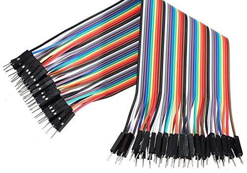 """Neuftech 40x 20cm """"male male"""" St./St. Jumper Wire Kabel Steckbrücken Drahtbrücken für Arduino Raspberry pi"""
