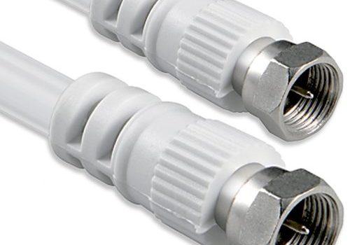 1aTTack Koaxial Anschluss Kabel Antennenkabel Sat Kabel Anschlusskabel F-Stecker Koaxialstecker auf Koaxialkupplung doppelt geschirmt/Dreifach geschirmt/4fach geschirmt/75dB/85dB/100dB/110dB/120dB/125dB SAT weiß F-F 75db 15 meter