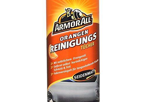 ARMOR ALL Reinigungstücher m. Orangenöl 30 Stk. GAA45030GE, seidenmatt, für Auto und Haushalt