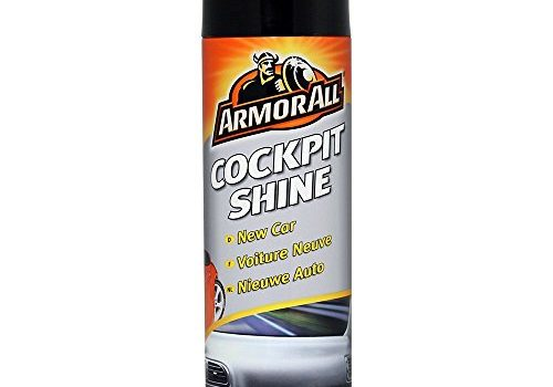 ARMOR ALL Cockpit-Shine New Car 500 ml GAA83500GB, antistatische Innenreinigung