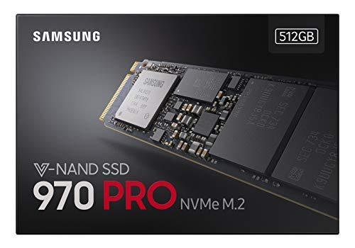 Samsung MZ-V7P512BW 970 PRO Interne SSD 512GB NVMe M.2