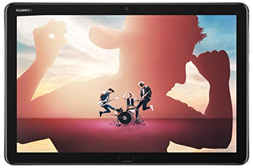 Huawei MediaPad M5 Lite LTE Tablet-PC 25,6 cm 10,1 Zoll, Full HD, Kirin 659, 3GB RAM, 32 GB interner Speicher, Android 8.0, EMUI 8.0, grau