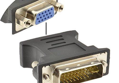VGA 15 Polig Video Buchse Zum DVI 24+5 Analogon Stecker Adapter