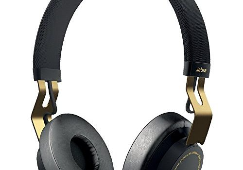 Jabra Move Wireless Stereo on-Ear-Kopfhörer Bluetooth, kabellos Musik hören und telefonieren gold