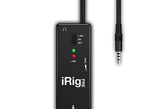 iRig Pre Universal Microphone Interface for iPhone/iPod Touch/iPad