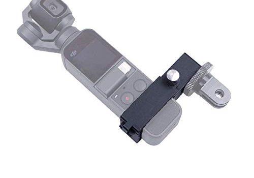 SKYREAT Aluminium Legierung Multifunktional Erweiterungs Adapter-Erweiterungs Funkmodul für DJI Osmo Pocket, mit 1/4″Gewinde 3/8″ Schraubenloch