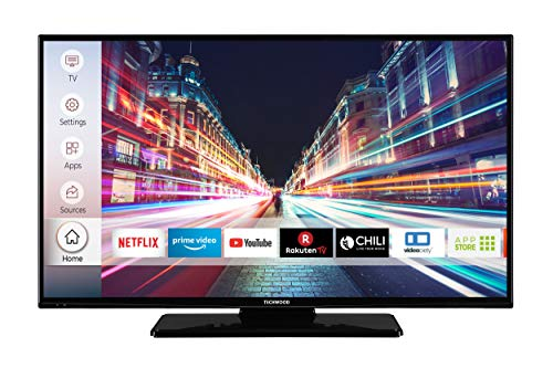 Techwood F40T52C 102 cm 40 Zoll Fernseher Full HD, Triple-Tuner, Smart TV, Prime Video