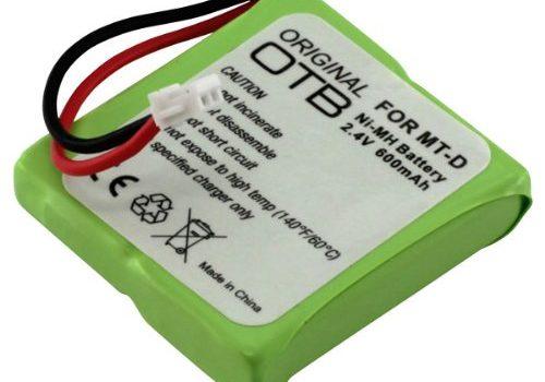 OTB Akku für AVM Fritz!Fon MT-D / Medion MD 81877 / Audioline SLIM DECT 500 / T-Com Sinus A201 NIMH 600mAh 2.4V