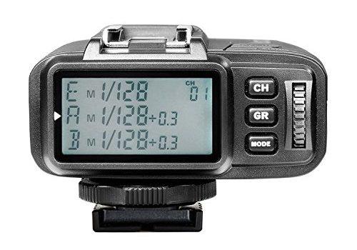 Neewer N1T-S TTL 2.4G 32 Kanäle Funk Blitz Auslöser Sender für Sony A77II A7RII A7R A58 A99 A6000 Kamera mit Mi Blitzschuh, Studio Blitze und Flash Speedlite