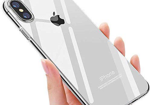 Transparent – iPhone XS Handyhülle , iPhone X Schutzhülle , otutun iPhone XS Crystal Schutzhülle TPU Bumper Cover Kratzfeste Weich Silikon Hülle für Apple iPhone XS/iPhone X Case Cover