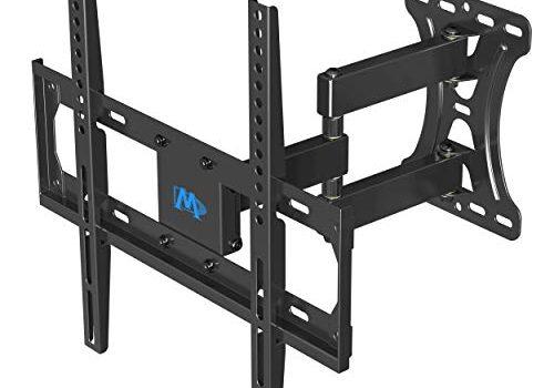 Mounting Dream TV Wandhalterung Schwenkbar Neigbar Ausziehbar, Fernseher Wandhalterung für die meisten 66cm-140cm 26-55 Zoll LED, LCD, OLED TVs bis zu VESA 400x400mm und 27kg, TV Halterung MD2432-03