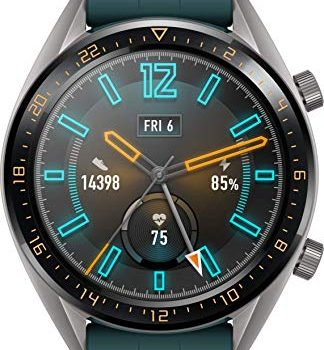 Huawei Watch GT Active Smartwatch 3,53 cm 1,39 Zoll AMOLED Touchscreen, GPS, Fitness Tracker, Herzfrequenzmessung,5 ATM wasserdicht Dunkelgrün
