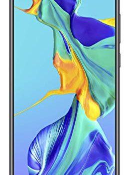 HUAWEI P30 Dual-SIM Smartphone Bundle 6,47 Zoll, 128 GB ROM, 6 GB RAM, Android 9.0 Black + USB-Adapter Exklusiv bei Amazon – DE Version