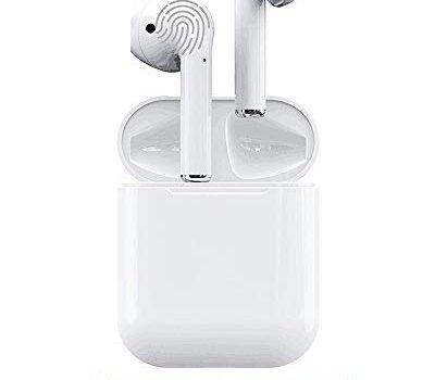 WINCASE Bluetooth-Headset,kabelloses Bluetooth 4.2 In-Ear-Kopfhörer mit Headset-Mikrofon, Sportmikrofon für Android/iPhone XR X 8 8 Plus 7 7 Plus 6 6 Plus Samsung Galaxy S10