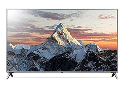 LG 75UK6500PLA 189 cm 75 Zoll Fernseher Ultra HD, Triple Tuner, 4K Active HDR, Smart TV