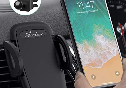Handyhalterung Auto Kratzschutz KFZ Handy Halterung Auto Lüftung für iPhone, Samsung, HTC, LG, Huawei und andere Smartphone oder GPS-Geräte – Avolare Handyhalter fürs Auto