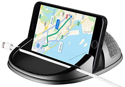 Beeasy Handyhalterung Auto, Smartphone Halterung Auto Universal KFZ für iPhone X 8 7 6 6S Plus Samsung Galaxy/Huawei/OnePlus/Xiao mi/Sony Xperia/und 3-7Zoll Andere Telefon oder GPS-Geräte
