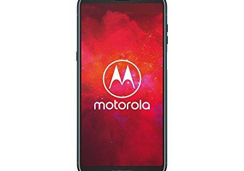 Motorola moto z3 play Smartphone BUNDLE 6 Zoll + moto Power Pack + moto Style Shell – Black Leather, 4 GB RAM/64 GB, Android Deep Indigo Exklusiv Bei Amazon