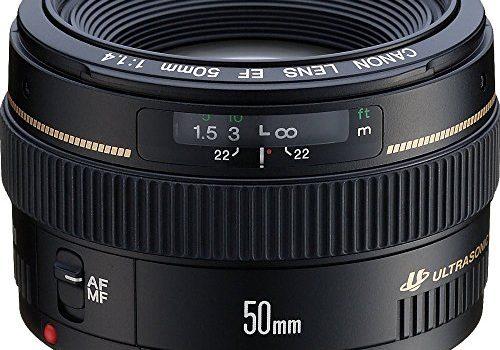 Canon EF 50mm 1:1.4 USM 58 mm Filtergewinde Objektiv