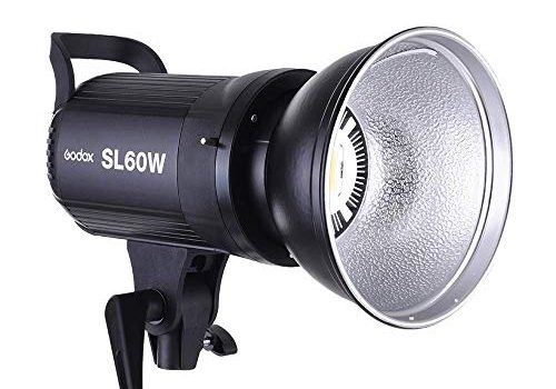 Godox SL-60W 60W 5600¡À300K LED Video Light with Bowens Mount Continous Light – White Version …