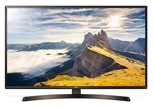 LG 49UK6400PLF 123 cm 49 Zoll Fernseher Ultra HD, Triple Tuner, 4K Active HDR, Smart TV