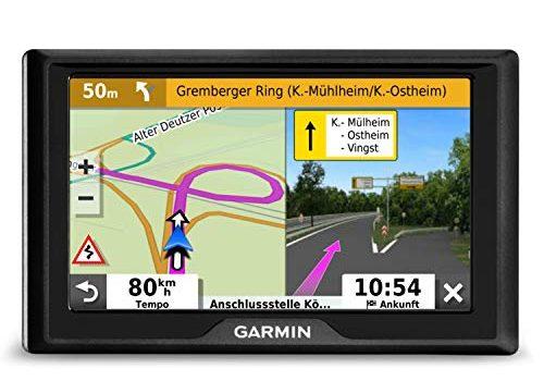 Garmin Drive 52 EU Navi – Europakarten, 5 Zoll-Display, Sicherheitspaket, Parkplatzsuche, TripAdvisor POIs