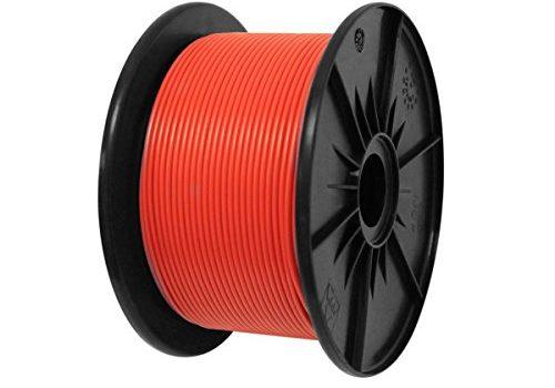 AK-Parts FLRY Fahrzeugleitung 50 Meter 2,50 mm² Rot