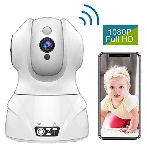 Zeetopin WLAN Kamera IP Überwachungskamera 1080P mit