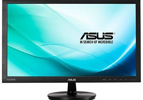 Asus VS247HR 59,9 cm 23,6 Zoll Monitor Full HD, VGA, DVI, HDMI, 2ms Reaktionszeit schwarz