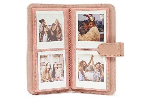 Fujifilm 70100141161 Instax SQ 6 Album Blush Gold