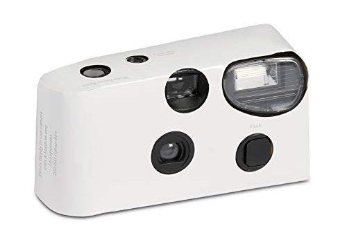 Einwegkamera mit Flash White für Hochzeiten und Partys 10er Pack