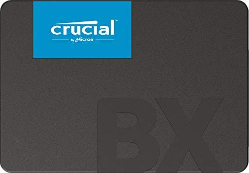 Crucial BX500 CT240BX500SSD1 240GB Internes SSD 3D NAND, SATA, 2,5-Zoll
