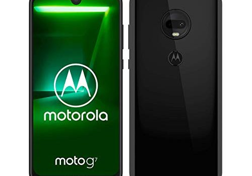 moto g7 Dual-SIM Smartphone 6,2 Zoll Display, 12-MP-Dual-Kamera, 64GB/4GB, Android 9.0 Ceramic Black Exklusiv bei Amazon