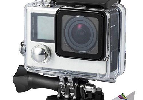 45m Unterwasser-Fotografie – Deyard Wasserfestes Gehäuse mit Schnellspann-System und Daumenschraub für die GoPro Hero 4 und Hero3+ Action Cam