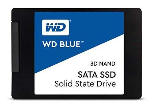 Western Digital WDS500G2B0A WD Blue 500GB  3D NAND Internal SSD 2.5″ SATA