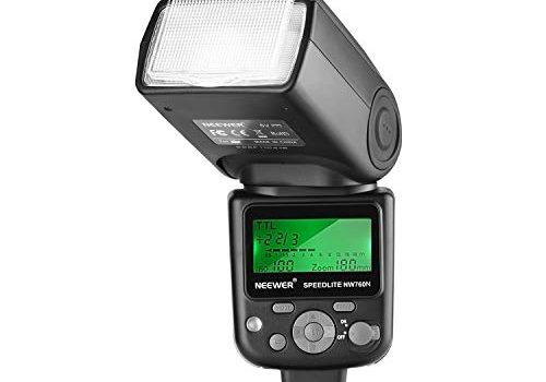 Neewer NW760 TTL Blitz Speedlite mit LCD Anzeige für Nikon D7200 D7100 D7000 D5500 D5300 D5200 D5100 D5000 D3300 D3200 D3100 D700 D600 D500 D90 D80 D70 und anderen Nikon Kameras