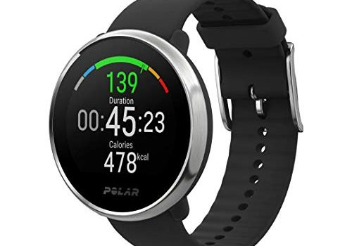 Polar Unisex Ignite Wasserdichte GPS-Fitnessuhr mit optischer Pulsmessung am Handgelenk und Trainingsanleitungen