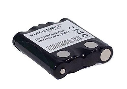 Motorola Akku 800 mAh NiMH kompatibel mit MOTOROLA TLKR-T4, TLKR-T5, TLKR-T7 und XTR446, MicroTalk 80, 85, 100, 110, 115, 200, 300, PR500, PR900