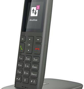 wahlweise nutzbar am IP Anschluss oder am analogen a/b Port – Telekom Speedphone 11 Grafit mit DECT Basis und Anrufbeantworter