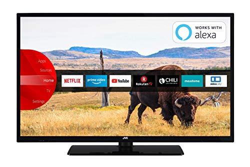 JVC LT-32V55LFA 81 cm 32 Zoll Fernseher Full HD, Triple-Tuner, Smart TV, Prime Video, Bluetooth