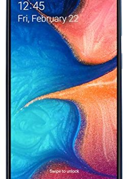 Samsung Galaxy A20e Smartphone 14.7cm 5.8 Zoll 32GB interner Speicher, 3GB RAM, Dual SIM, Blau – Deutsche Version