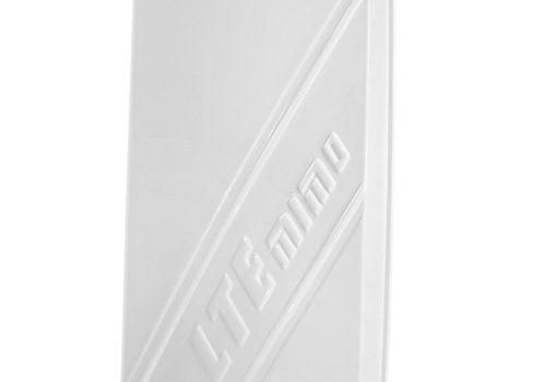 Multi-Band LTE / 4G Antenne für 800/1800/2600 MHz – Richtantenne mit bis zu 14dBi Leistungsgewinn, inklusive 5m TWIN-Kabel mit SMA Stecker, passend zu Telekom Speedport LTE / LTE II, Speedbox LTE / LTE II / LTE III, Vodafone Easybox 904 LTE / B1000 / B2000, O2 LTE Router, FritzBox LTE- Router, Huawei B390 / B593 / B890 / E5186, D-Link DWR-921, Teltonika RUT550