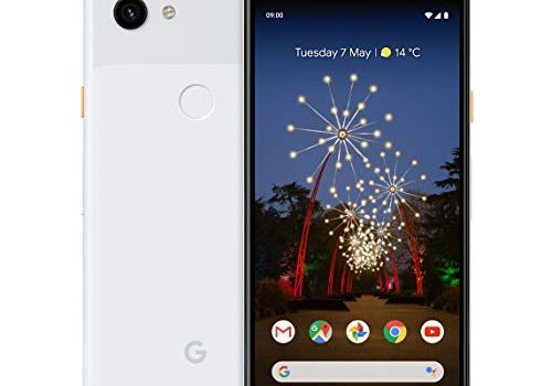 Google Pixel 3A 64GB Smartphone Android 9.0 3A, Clearly White