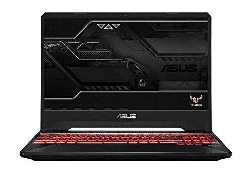 ASUS TUF Gaming FX505DY 90NR01A2-M01050 39, 6 cm 15, 6 Zoll, FHD, WV, Matt Gaming-Notebook Intel Core i7-9750H, 32GB RAM, 512GB SSD+1 TB HDD, NVIDIA RTX2080 8GB, Windows 10 Black