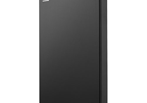 Seagate Backup Plus Slim 1TB Portable External Hard Drive with Mobile Device Backup USB 3.0 Black STDR1000100