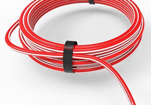 AUPROTEC Fahrzeugleitung 6,0 mm² FLRY-B als Ring 5m oder 10m Auswahl: 5m, rot-weiß