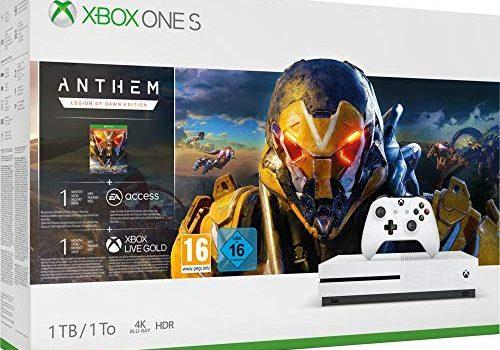 Microsoft Xbox One S 1TB – Anthem Bundle inkl. Anthem: Legion of Dawn Edition