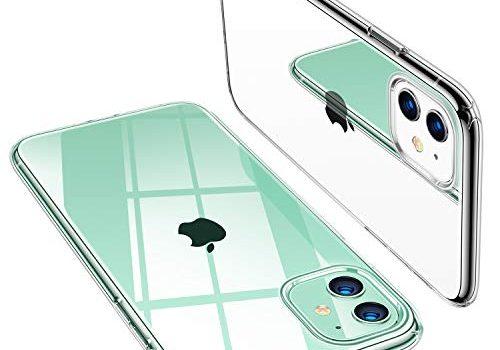 Transparent – TORRAS Crystal Clear iPhone 11 Hülle, Transparent Anti-Gelb Dünn iPhone 11 Case Schutzhülle Silikon Klar Slim Stoßfest Clear Durchsichtige Bumper Cover Handyhülle für iPhone 11