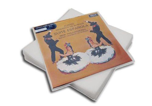 LP Schutzhüllen aus PE Protected 100 Stück