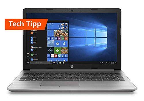 HP 250 G7 15,6 Zoll / HD Business Laptop Intel Pentium 4417U, 8GB DDR4 RAM, 1TB HDD, 128GB SSD, Intel HD Grafik 610, Windows 10 Home Silber